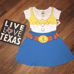 Toy Story Jessie T-shirt dress! Sz large